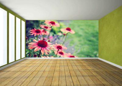 wallart.ie | flower wall murals